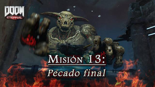 Misión 13: Pecado final en DOOM Eternal - Coleccionables y secretos