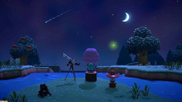 Estrellas fugaces y Varita Mágica en Animal Crossing: New Horizons