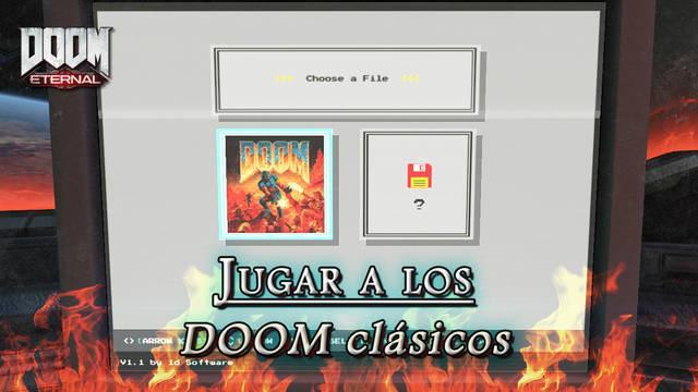 DOOM Eternal: ¿Cómo jugar a DOOM clásico y a DOOM II? - Easter egg
