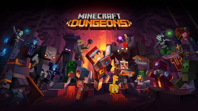 Minecraft Dungeons fecha su lanzamiento para el 26 de mayo.