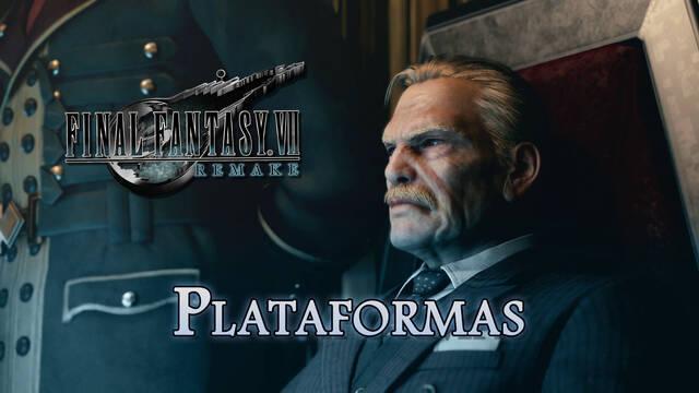 Final Fantasy VII Remake: ¿En qué plataformas estará disponible?