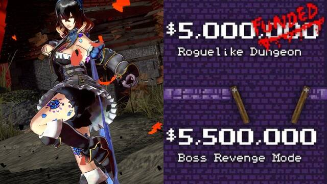 Bloodstained se queda sin roguelike