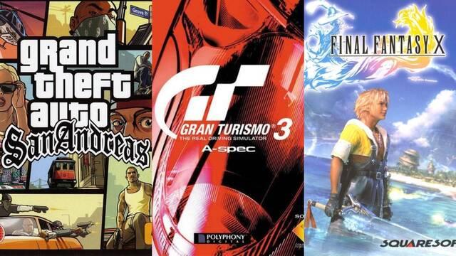 Los juegos más vendidos de PS2