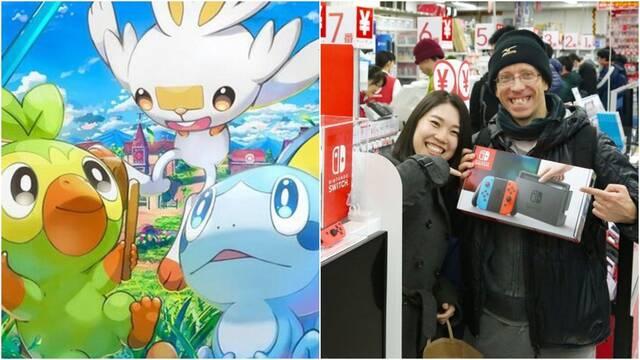 Nintendo Switch y Pokémon siguen conquistando Japón