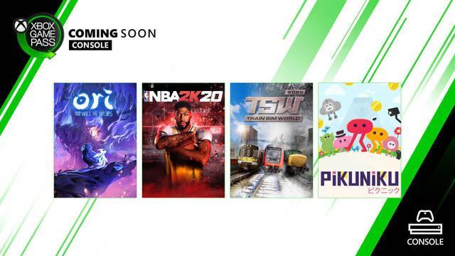 Juegos de marzo en Xbox Game Pass.