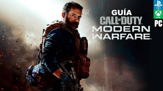 Guía de Call of Duty: Modern Warfare (2019), trucos, consejos y secretos