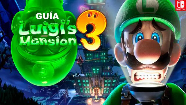 Guía Luigi's Mansion 3, trucos, consejos y secretos