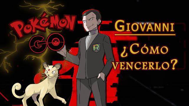 Pokémon GO: Cómo derrotar a Giovanni - Mejores counters (Abril 2021)