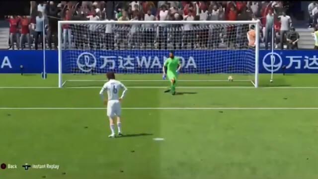 FIFA 20 Penalti Jugador profesional fallo Electronic ARts