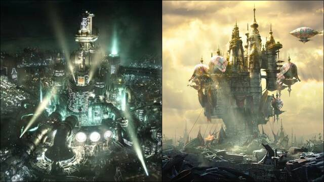 Final Fantasy 7 Remake Tema PS4 Final Fantasy 14