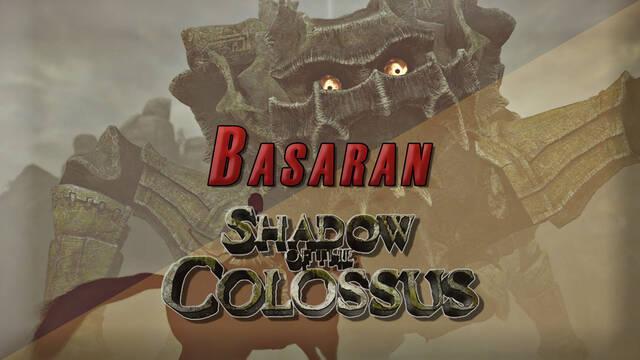 Coloso 9º, Basaran en Shadow of the Colossus (PS4) - Cómo derrotarlo y localización