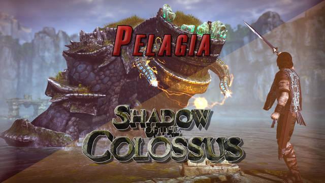 Coloso 12º, Pelagia en Shadow of the Colossus (PS4) - Cómo derrotarlo y localización