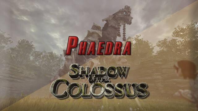 Coloso 4º, Phaedra en Shadow of the Colossus (PS4) - Cómo derrotarlo y localización