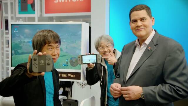 Miyamoto Nintendo Switch éxito