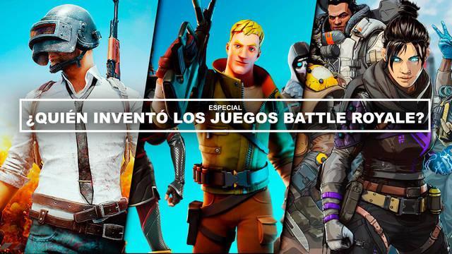 ¿Quién inventó los juegos Battle Royale? ¿Cuál fue el primero?