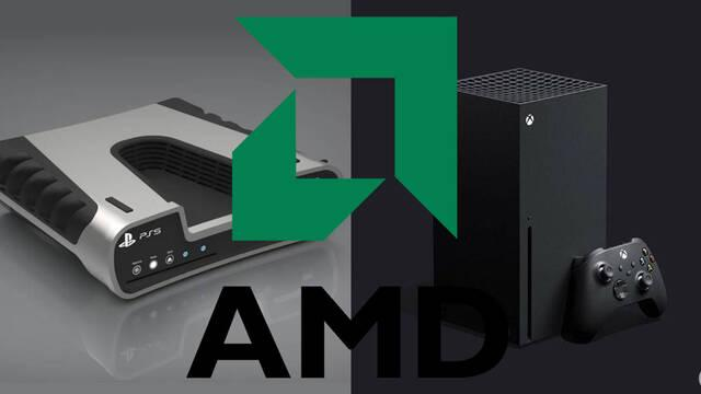 arquitectura AMD PS5 y XBox Series X