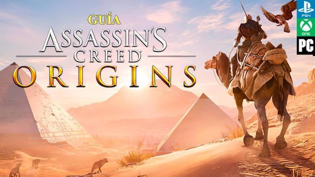 🥇Guía Assassin's Creed Origins | Trucos, consejos y secretos!