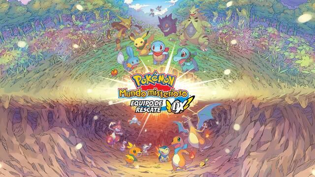 Pokémon Mundo Misterioso Equipo de Rescate DX es el juego más vendido en Reino Unido