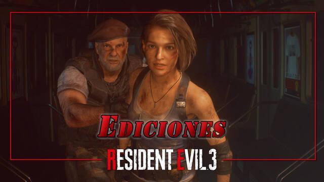 Todas las ediciones de Resident Evil 3 Remake: precios y contenido