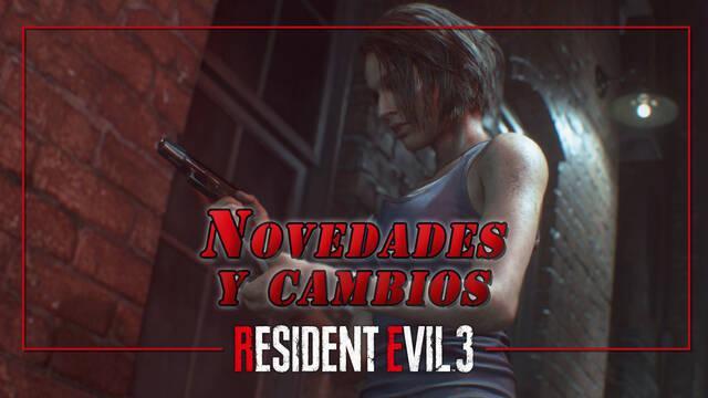Resident Evil 3 Remake: Novedades y cambios respecto al original