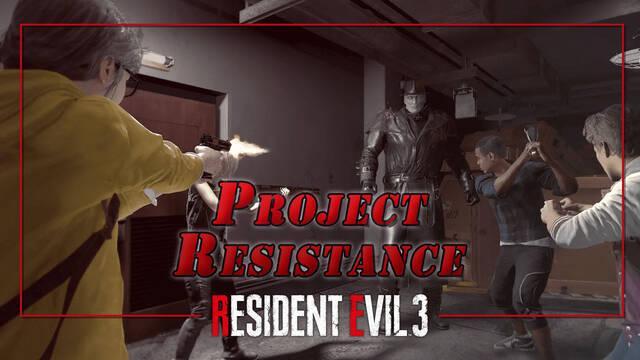 Resident Evil 3 Remake: ¿Qué es Project Resistance?