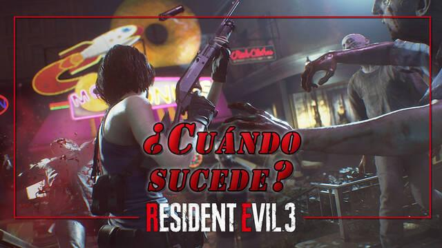 Resident Evil 3 Remake: ¿Cuándo tiene lugar cronológicamente?