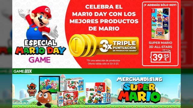 Super Mario 3D All-Stars oferta en GAME sólo hoy