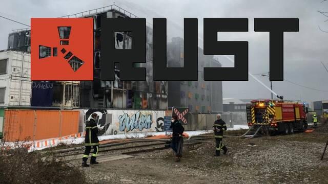 Rust servidores europeos incendio datos perdidos