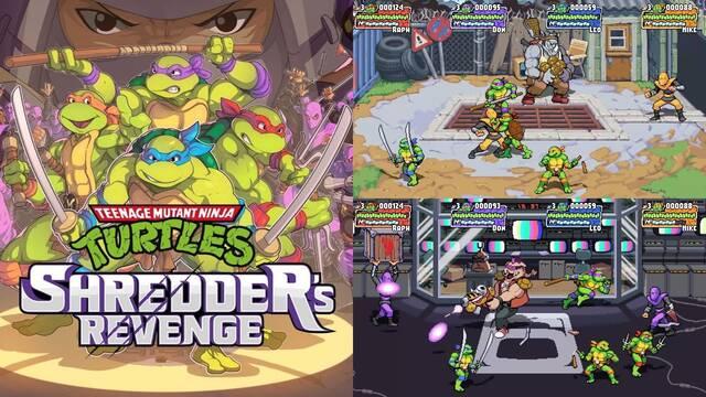 Teenage Mutant Ninja Turtles Shredder's Revenge PC consolas gameplay tráiler