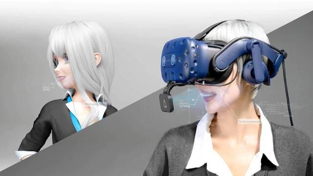 VIVE Facial Tracker, un nuevo dispositivo de captura facial instantánea para realidad virtual.