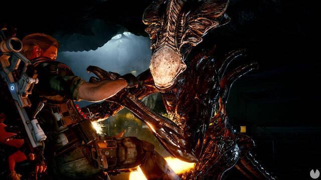 Aliens: Fireteam y los xenomorfos