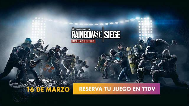 Rainbow Six Siege Deluxe Edition PS5 Xbox Series TTDV reserva