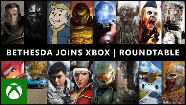 Evento presentación Bethesda Xbox Mesa redonda