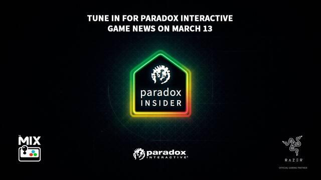 Paradox Insider ver directo fecha hora