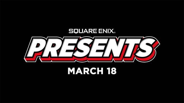 Square Enix celebrará Square Enix Presents el 18 de marzo.