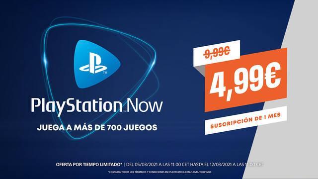 PS Now: Consigue un mes por tan solo 5 euros hasta el 11 de marzo