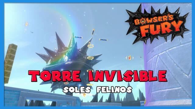 TODOS los Soles felinos de Torre Invisible en Bowser's Fury