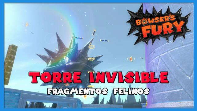 Fragmentos felinos de Torre Invisible en Bowser's Fury