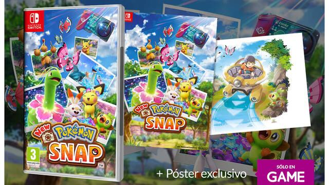 Bonus de reserva de New Pokémon Snap en GAME