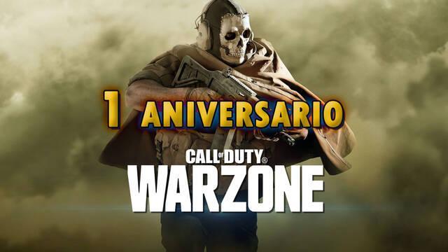 COD Warzone está de aniversario y te deja conocer tus estadísticas del año