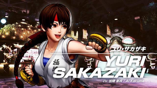 Yuri Sakazaki en The King of Fighters 15