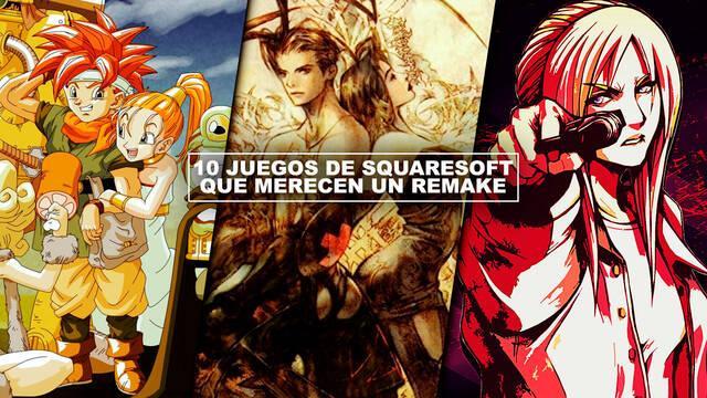 10 juegos de Squaresoft que merecen un remake