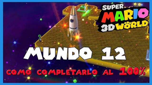 Mundo 12 en Super Mario 3D World al 100%
