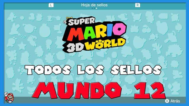Super Mario 3D World: TODOS los sellos del Mundo 12