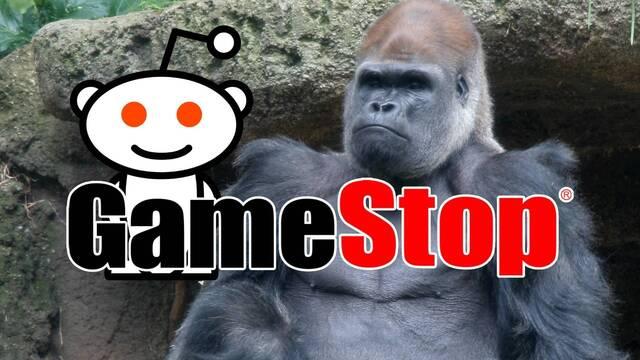 Usuarios de Reddit donan parte de sus ganancias con el caso GameStop a un refugio de gorilas.