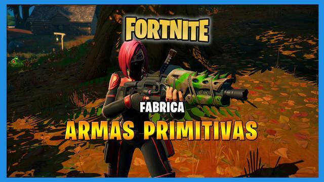 Fortnite: cómo fabricar un arma primitiva