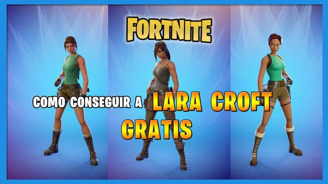 Fortnite: cómo conseguir a Lara Croft