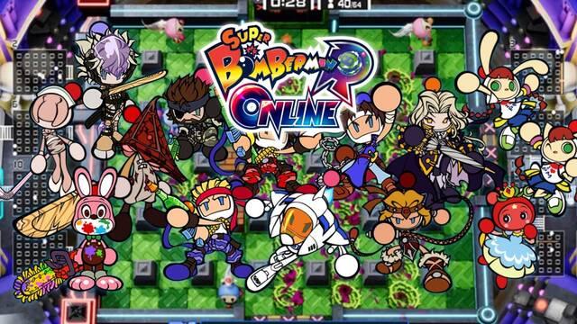 Super Bomberman R Online se lanzará como 'free-to-play' en PS4, Xbox One, Switch y PC.