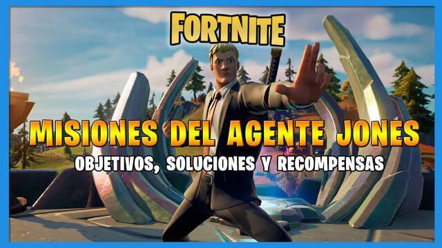 Fortnite: todas las misiones del Agente Jones y cómo completarlas