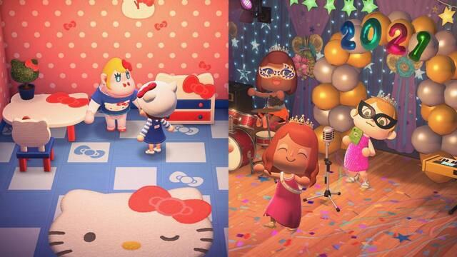 Actualización de marzo de Animal Crossing: New Horizons.